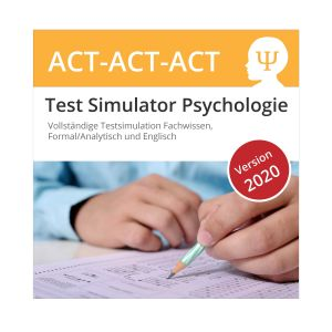 Psychologie Aufnahmetest Simulator