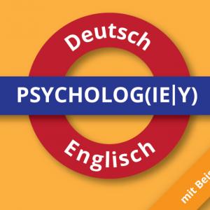 Psychologie Wörterbuch Wortschatz Deutsch-Englisch