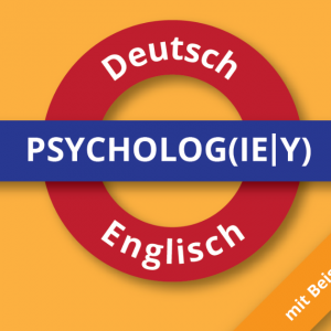 Psychology Dictionary German-English